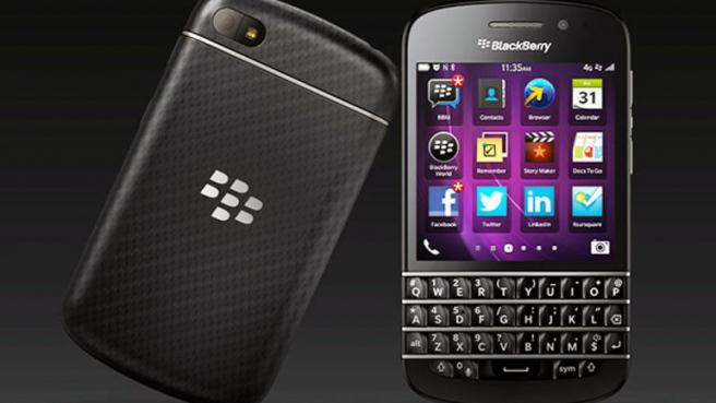 Стали известны имена смартфонов на BlackBerry 10