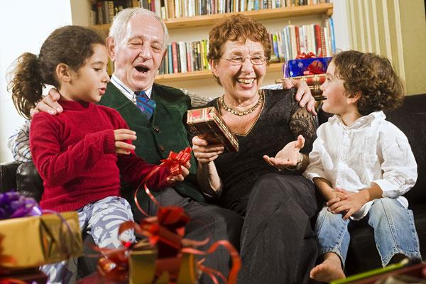 Подарок для дедушки и бабушки